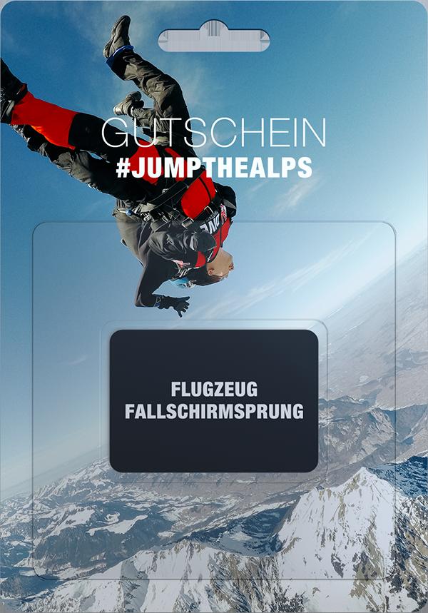 flugzeug fallschirmsprung interlaken switzerland gutschein